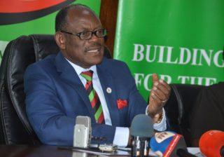 Makerere University vice chancellor Prof Barnabas Nawangwe