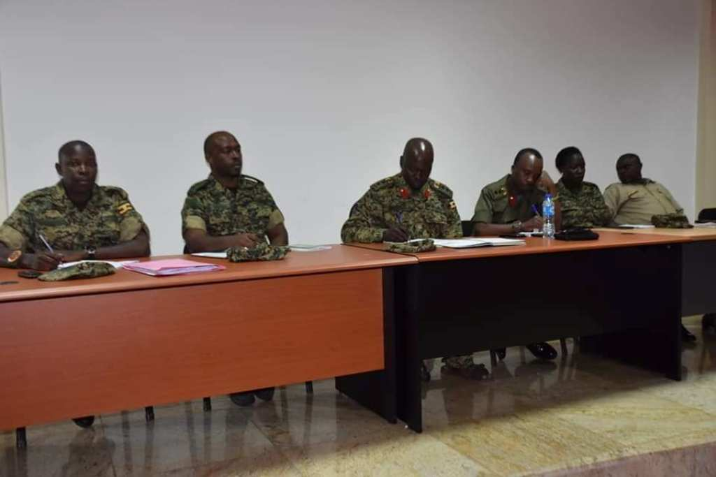 Army disciplinary court charges men who brutally arrested Yusuf Kawooya on Colville Street in Kampala. Courtesy Photo