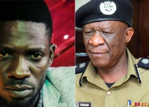 Bobi Wine and Ochola