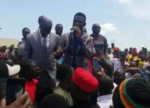 Bobi Wine in Lusanja