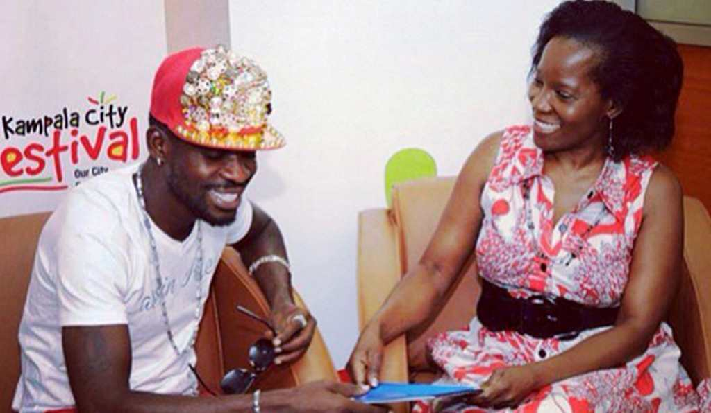 Bobi Wine with Jennifer Musisi