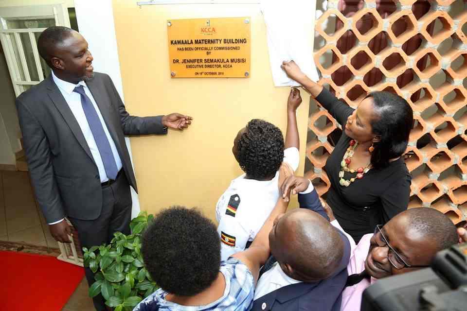 Jennifer Musisi launches Kawaala Maternity Ward