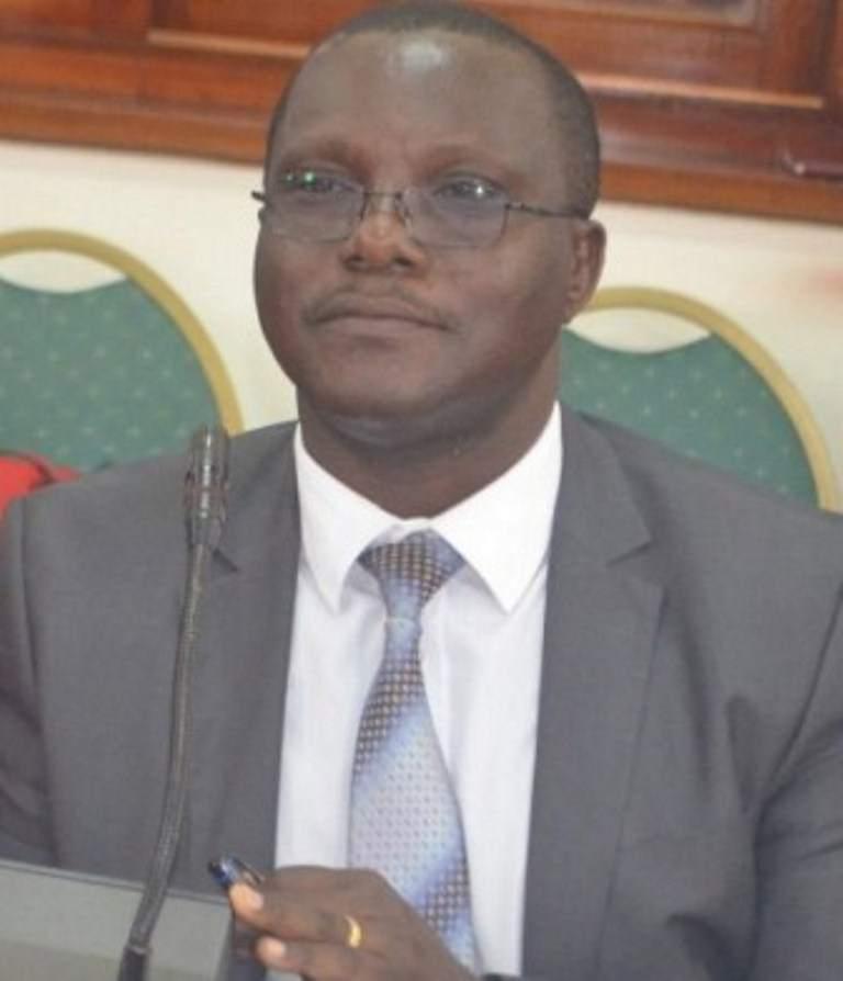 KCCA deputy executive director Sam Sserunkuma
