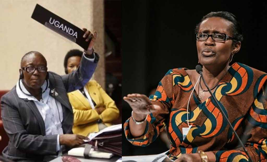 Kadaga and Byanyima