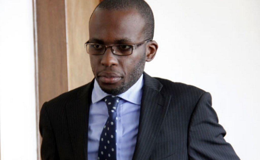 Lawyer Andrew Karamagi