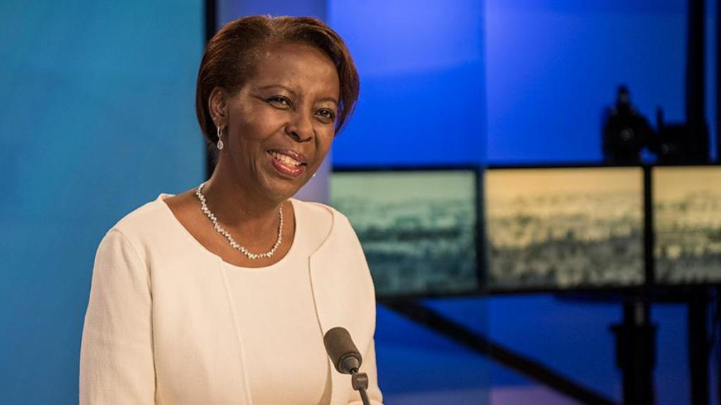 Louise Mushikiwabo, the new OIF leader