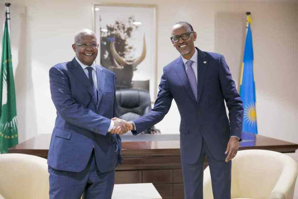 Minister Kutesa with President Kagame