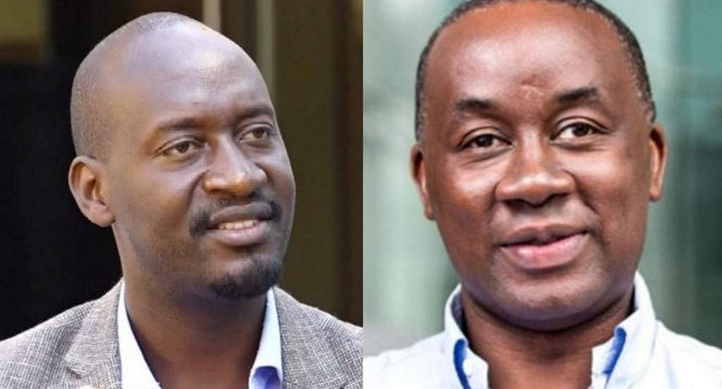 Morrison Rwakakamba and Awel Uwihanganye