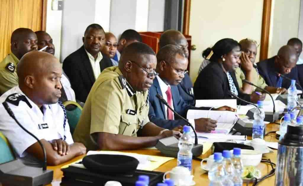 Officials from Uganda Police appear before Public Accounts Committee