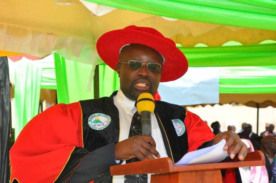 Prof Venansius Baryamureeba. Courtesy Photo