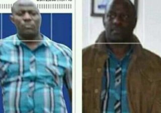 The man captured brutalizing Kawooya and the man paraded before army disciplinary unit. Courtesy Collage