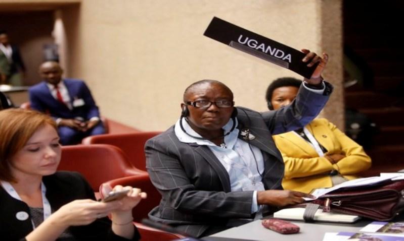 Uganda's Rebecca Kadaga