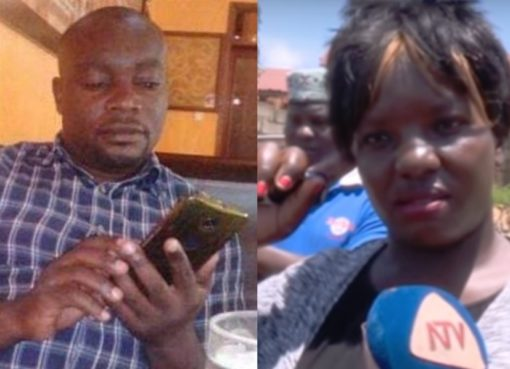 Yusuf Kawooya and Sharifah Nakitende
