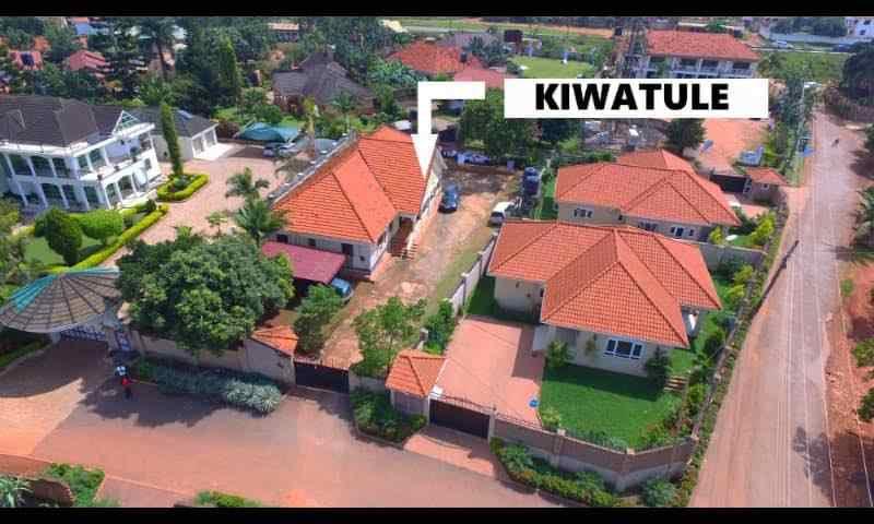 A property in Kiwatule reportedly belonging to Louis Kasekende