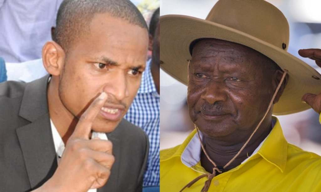 Babu Owino and Museveni
