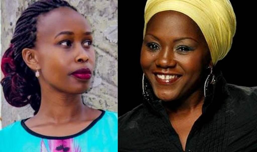 Barbie Kyagulanyi and Sylivia Owori