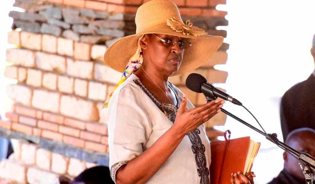 Education minister Janet Museveni