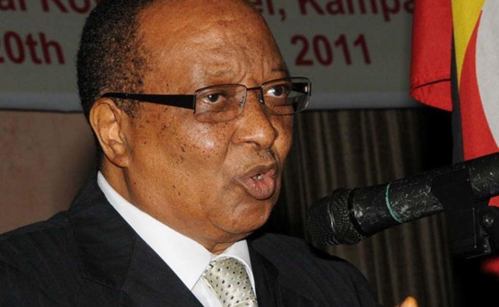 Former Prime Minister Robin Apolo Nsibambi. Courtesy Photo