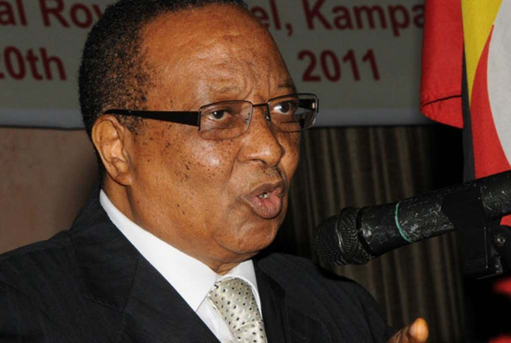 Former Prime Minister Robin Apolo Nsibambi. Courtesy Photo