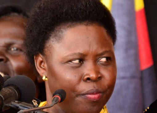 Minister Joyce Moriku. Courtesy Photo