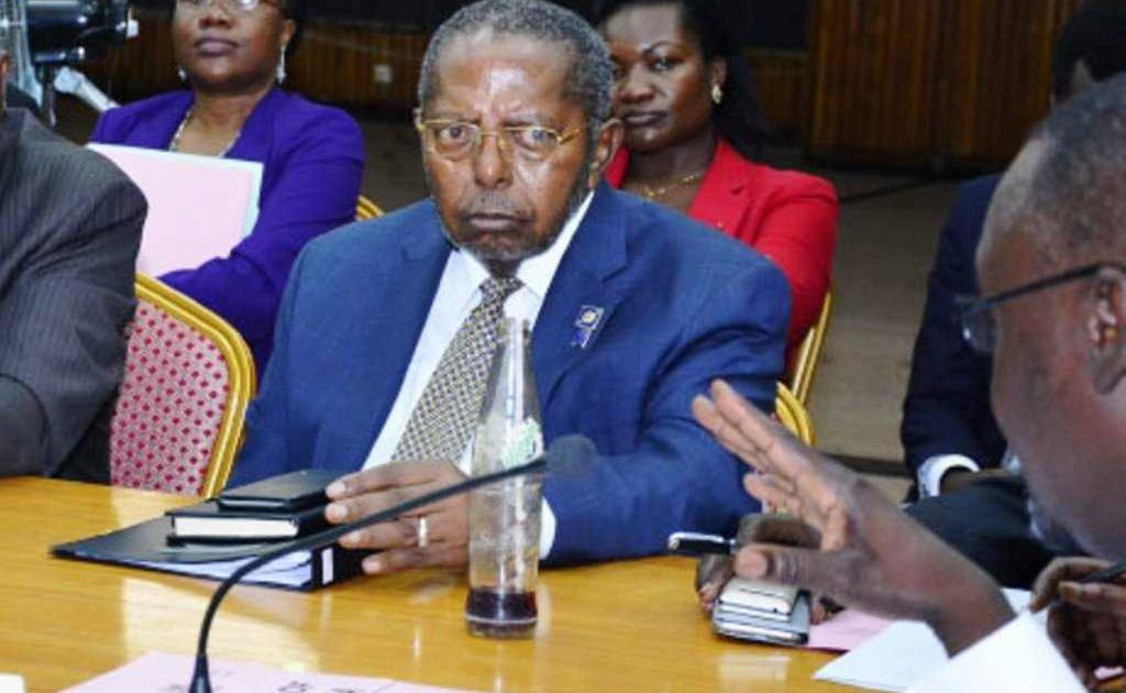 Mutebile appears before Cosase a year ago. Courtesy Photo