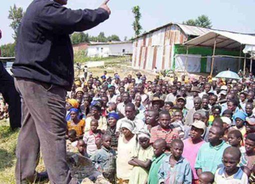 Rwandan refugees previously repatriated. Courtesy Photo