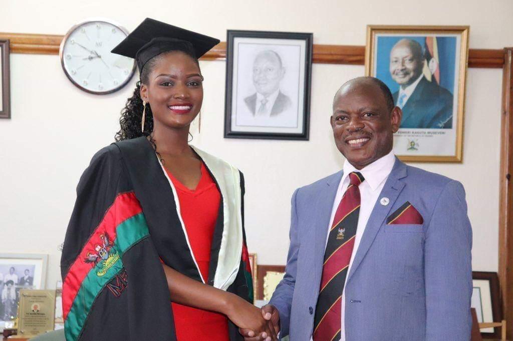 Miss Uganda Abenakyo Graduates With Bachelor's Degree - TowerPostNews