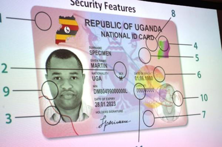 UPDF, Police Arresting People Without National IDs In