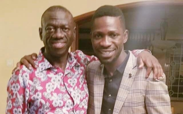 Besigye and Bobi Wine