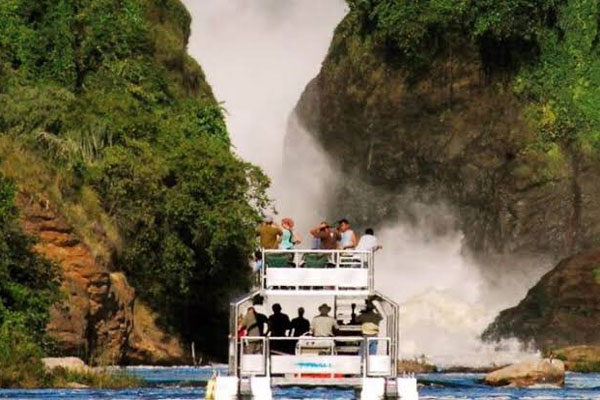 A cruise on Murchison Falls. Photo by Daily Monitor