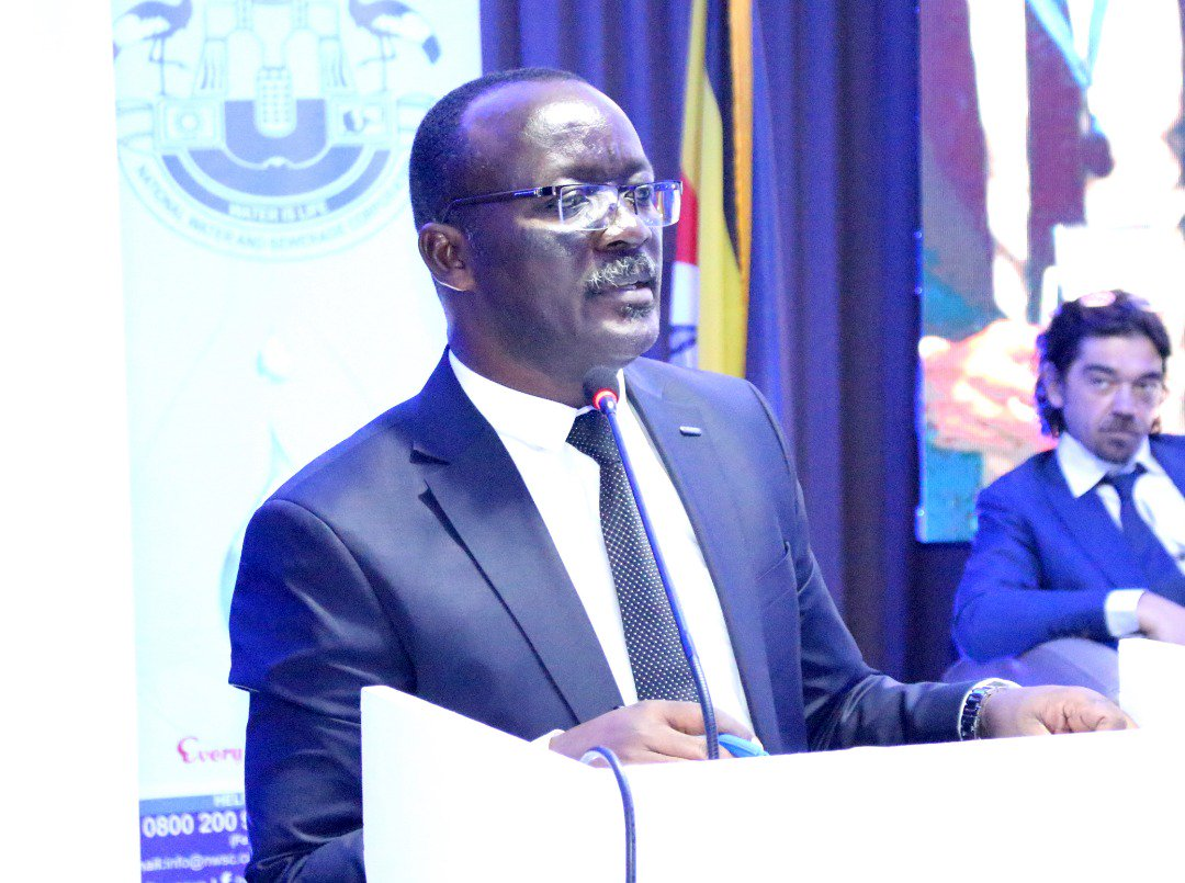 NWSC managing director Dr Silver Mugisha appointed Ubteb Board chairperson. Courtesy Photo
