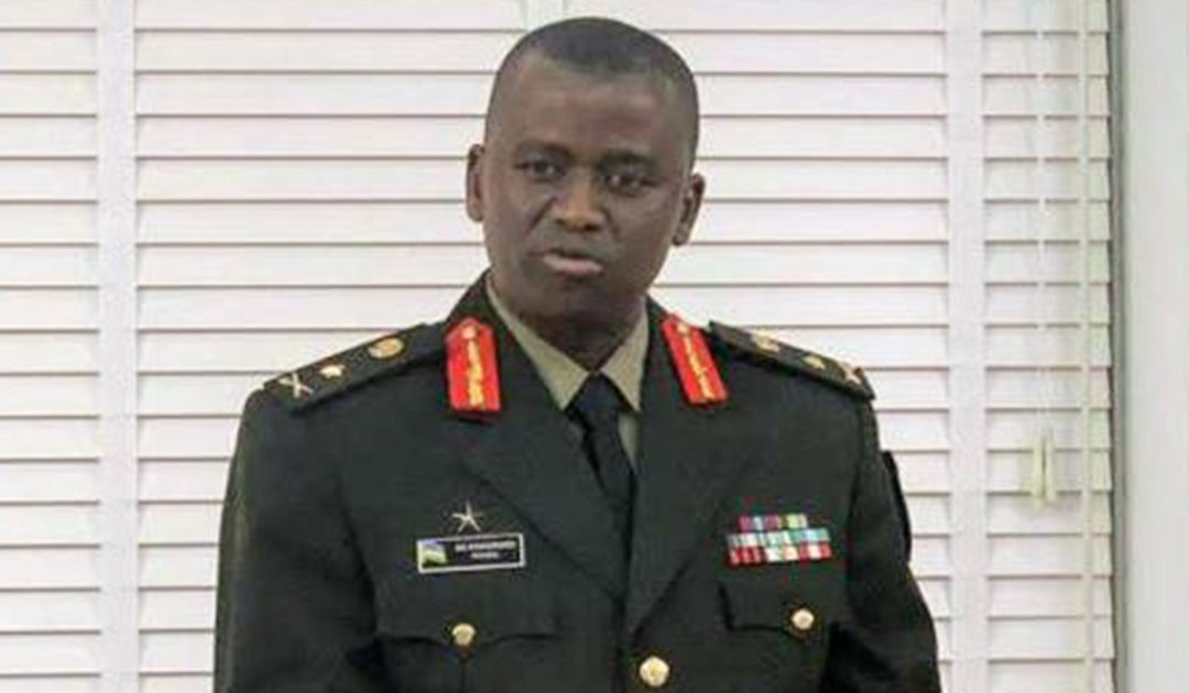 New Rwanda Chief of Defence Intelligence Brig Gen Vincent Nyakarundi. Courtesy Photo