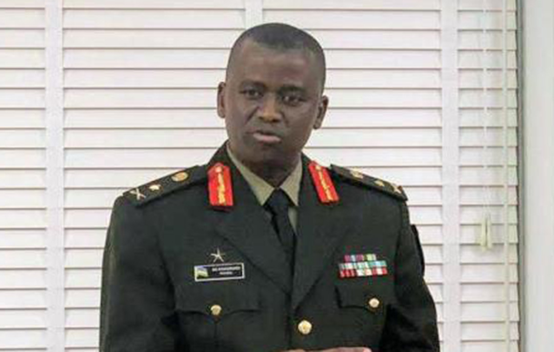 New Rwanda Chief of Defence Intelligence Brig Gen Vincent Nyakarundi. Courtesy Photo