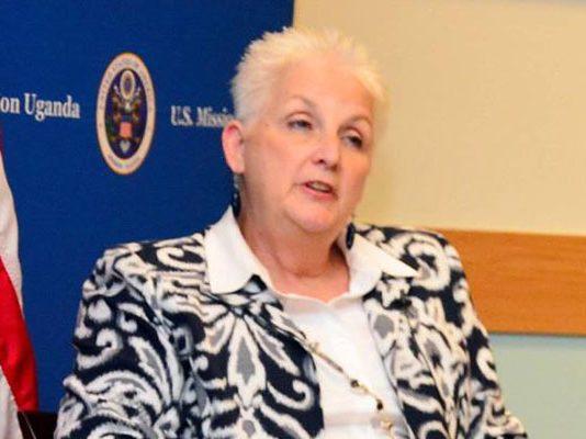 US Ambassador to Uganda, Deborah Malac. Courtesy Photo