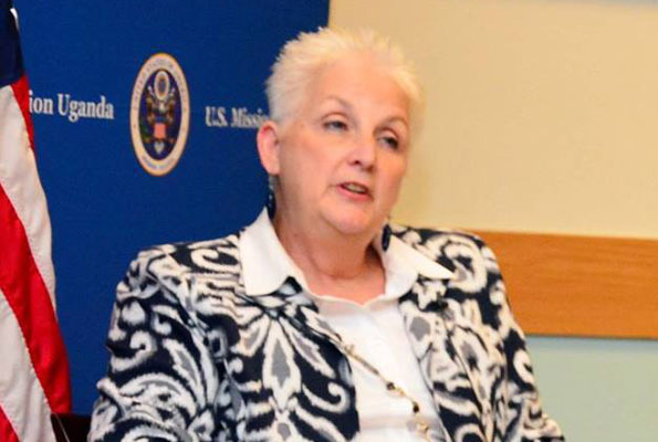 US Ambassador to Uganda, Deborah Malac. Courtesy Photo
